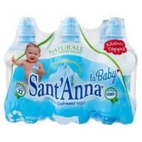 Acqua Naturale Baby Bottle Sant'anna 6 Da L.0,25