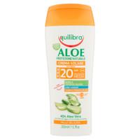 Crema Solare Aloe Equilibra F.P.20