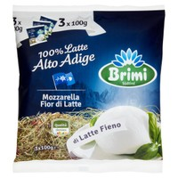 Mozzarella Brimi Latte Fieno Palla Conf. Da 3