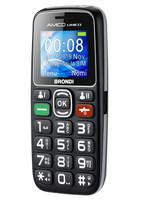 Telefono Cellulare Amico Unico Brondi Nero