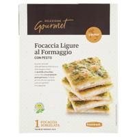 Focaccia Ligure Al Formaggio Con Pesto Selezione Gourmet Bennet