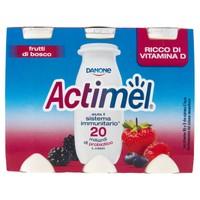 Actimel Frutti Di Bosco Danone 6 Da Ml . 100