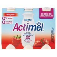 Actimel Danone Fragola Magro 6 Da Ml . 100