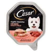 Alimento Umido Per Cani Vitello E Pollo Cesar