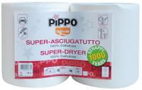 2 Rotoli Super Asciugatutto Pippo