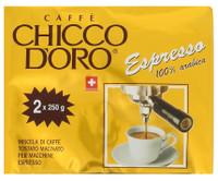 Caffe' Espresso Chicco D'oro 2 Da Gr.250