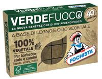 Accendifuoco Bio 40 Cubetti