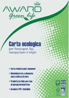 Carta Ecologica A 4 Per Fotocopie Award Green Life