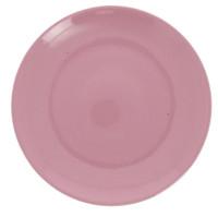 Piatto Piano Rosa Saturnia