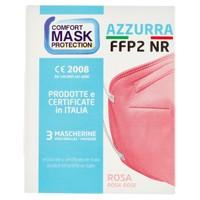 Mascherina Azzurra Ffp2 Rosa Conf. Da 3