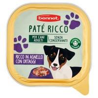 Pat Per Cani Ricco Bennet Agnello E Verdure
