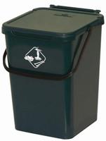 Secchio Verde Per Raccolta Differenziata Con Coperchio 10l Art Plast