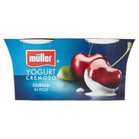 Yogurt Ciliegia Muller 2 Da Gr . 125