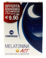 Melatonina 1 mg Act Compresse