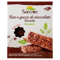 Barrette Riso E Gocce Di Cioccolato Senza Glutine Sarchio