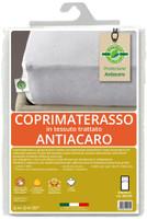 Coprimaterasso 1pz Cm85x195 In Tessuto Trattato Antiacaro Greenfirst