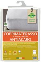 Coprimaterasso 1pz 1/2 Cm120x195 Tessuto Trattato Antiacaro Greenfirst