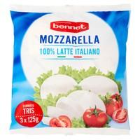 Mozzarella Bocconcino Bennet 3 Da Gr . 125