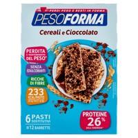 Barrette Cereali E Cioccolato Pesoforma