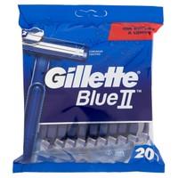 Rasoi Da Uomo Usa E Getta Blueii Gillette, 20 Pezzi