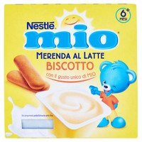 Merenda Al Latte Biscotto Da 6 Mesi Nestlé Mio
