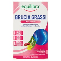 Brucia Grassi Equilibra 40 Compresse