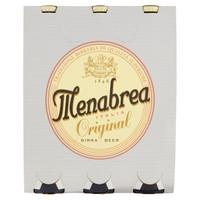 Birra Menabrea Original 3 Bottiglie Da Cl . 33