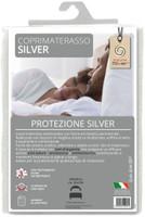 Coprimaterasso 1 pz Cm 85 x 195 Con Trattamento Silver Antibatterico