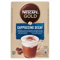 Cappuccino Decaffeinato Nescafe' Gold, 10 Bustine
