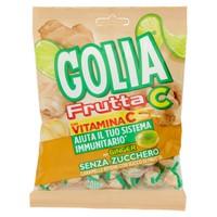 Caramelle Dure Ripiene Senza Zucchero Gusto Ginger Lime Golia Frutta C